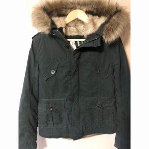 TNA Platoon fur jacket